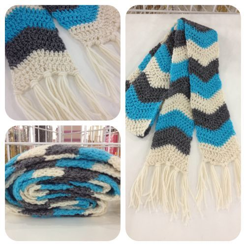 Chevron Scarf Pattern Knit : 17 Best images about Knit & Crochet on Pinterest Chevron scarves, Cable...