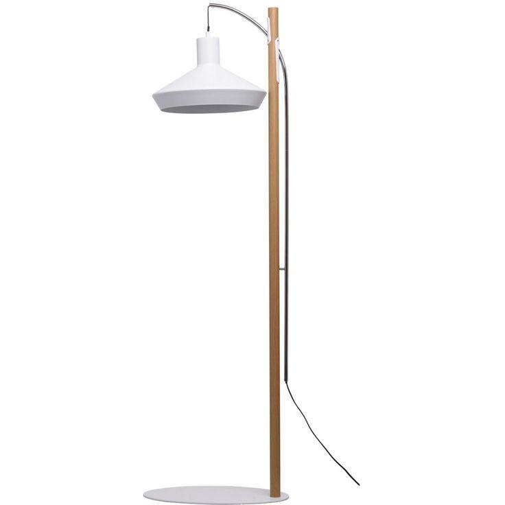 Die besten 25+ weiße Stehlampe Ideen auf Pinterest Trommel - wohnung mit deckenfluter einrichtern modern