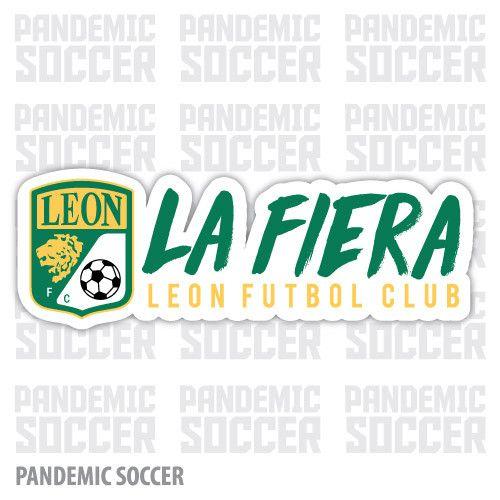 Club Leon Mexico Vinyl Sticker Decal Calcomania