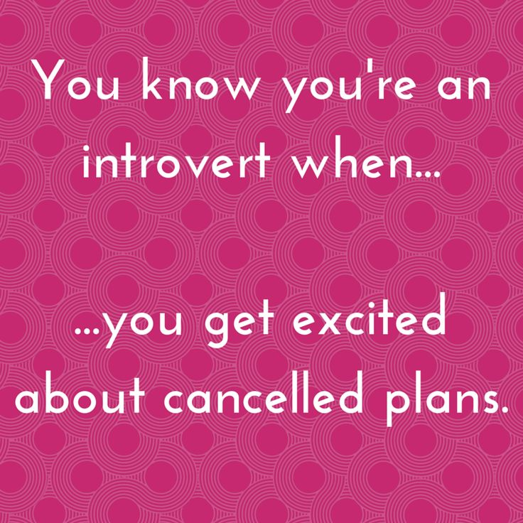Yes. This. #introvert