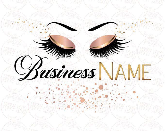DIGITAL Custom logo design , lashes logo, lashes beauty logo, makeup logo, lash logo design ...