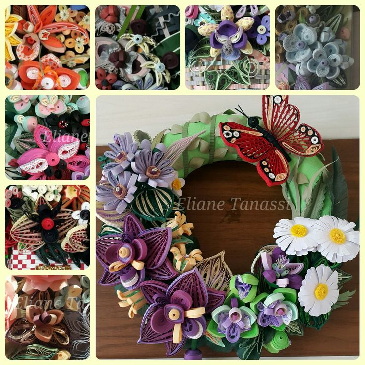 Quilled Orchids by Eliane Tanassi ♧ The Quilling Fairies ♧ (Facebook)
