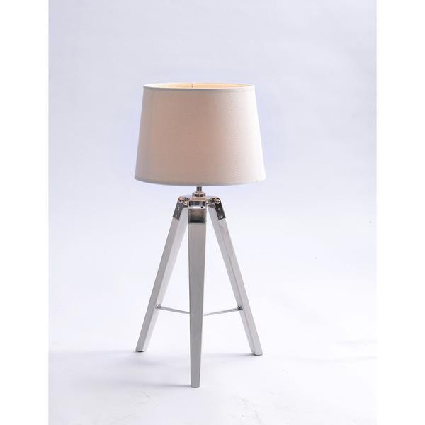 Tripod Table Lamp - White – Click Online Sales