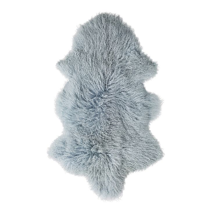 Update your home with charming Danish Design with this Mongolian lambs fur rug from Bloomingville. Luxuriously fluffy, this rug has been crafted from Mongolian lambswool and has a long shaggy textured