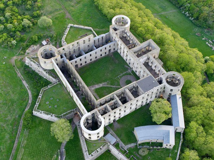 Castle Ruins, Borgholm, Oland, Sweden