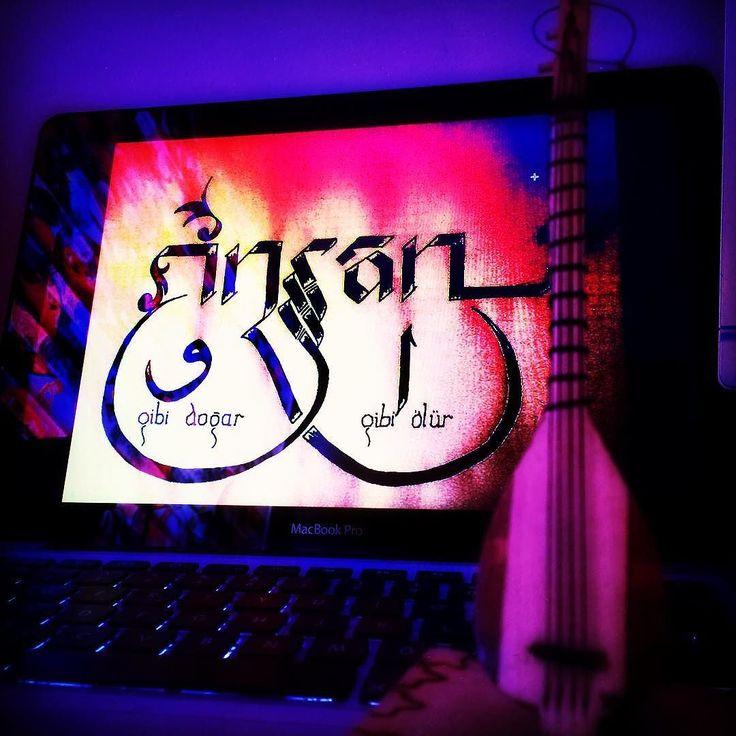 Vav ve Elif misali. #insan #sufi #elif