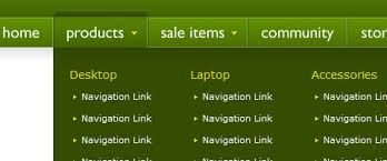html navigation bar - Google-søk