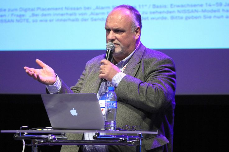"""Oliver Koch-Pahl presenting """"German Branded Entertainment Cases and scaling technologies"""""""
