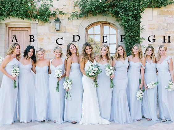 Best 25  Light blue bridesmaid dresses ideas on Pinterest | Light ...