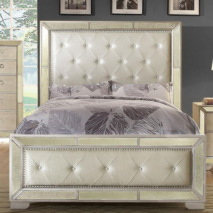 Loraine CM7195CK Modern Victorian Style Silver California