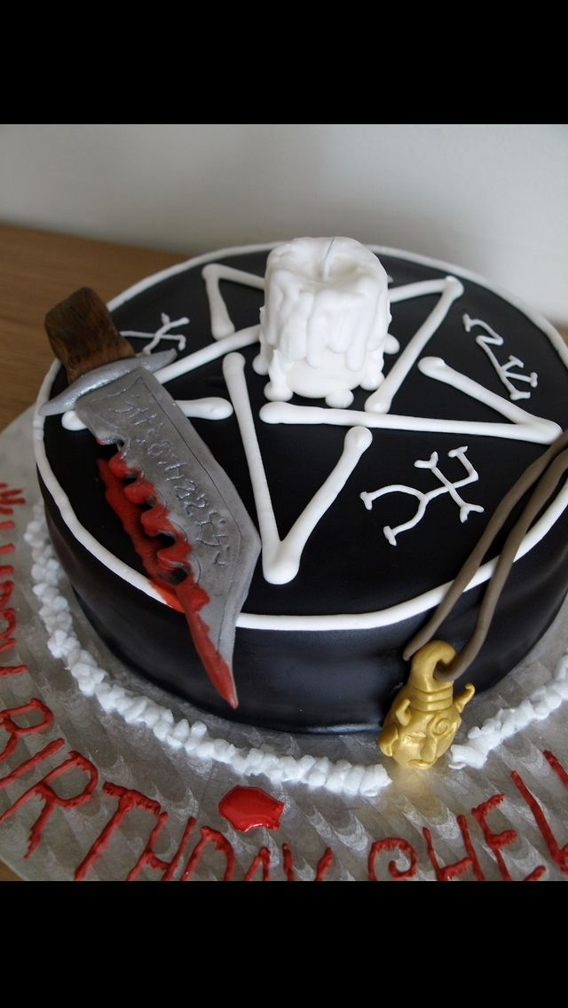 1000 ideas about supernatural cake on pinterest