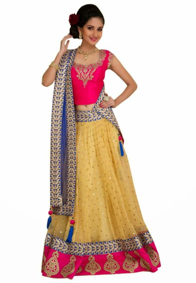 how to wear lehenga skirt