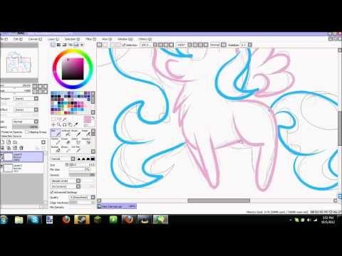 how to use paint tool sai youtube