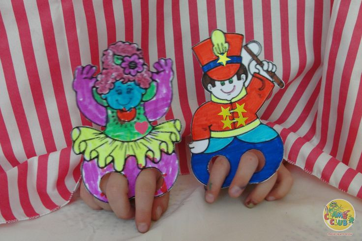 Puppets enhance storytelling (they help bring the story to life); they encourage social skills (children have to learn to take turns and listen to each other); they help with language development and, if you allow your children to make their own puppets, they encourage your child's creativity too.