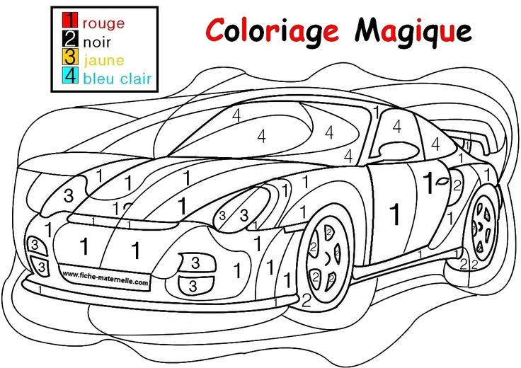 142 best Disegni da colorare con i numeri images on