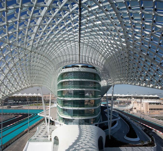 Abu Dhabi, UAE Architect: Asymptote - Hani Rashid + Lise Anne Couture Client: Aldar Properties PJSC Size: 85,000 sqm