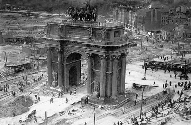 Нарвские ворота .1929