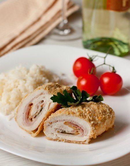 Chicken fillet Le Cordon Bleu