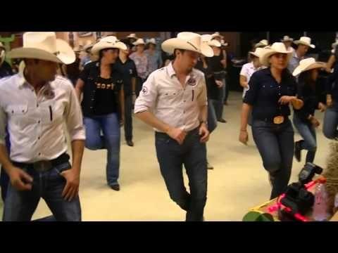 FRENTE E VERSO / RECTO VERSO - Danse Country de style Montana (Brésilien) - YouTube