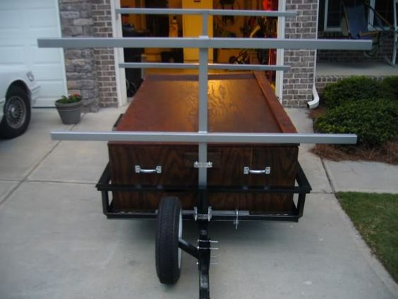 25 best ideas about kayak trailer on pinterest diy for Harbor freight fishing cart