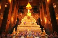 Wat Pho - Reclining Buddha - Bangkok