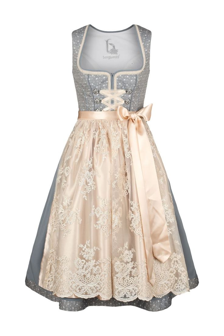 Short mini Dirndl with cute ornaments from Bergweiss from 79,95 at Bavaria Lederhosen shop now ♥ fast shipping ♥ large selection ♥ great brands