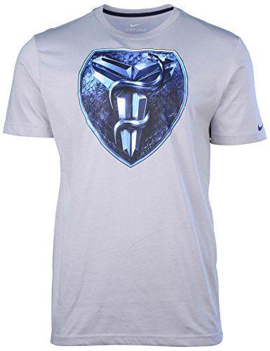 NIKE Nike Men'S Dri-Fit Kobe Foundation Basketball T-Shirt-Wolf Grey. #nike #cloth #