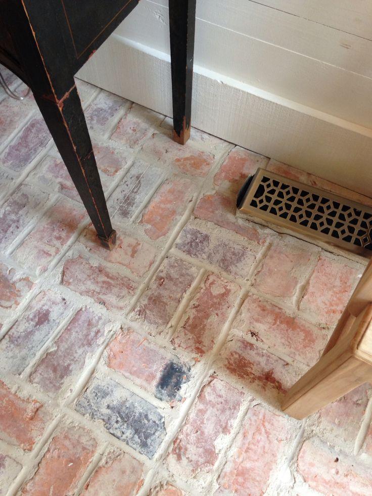Brick Flooring ~ James Farmer