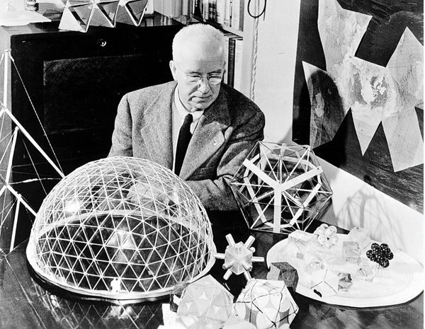 """Everyone is born a genius, but the process of living de-geniuses them."" ― Richard Buckminster Fuller"