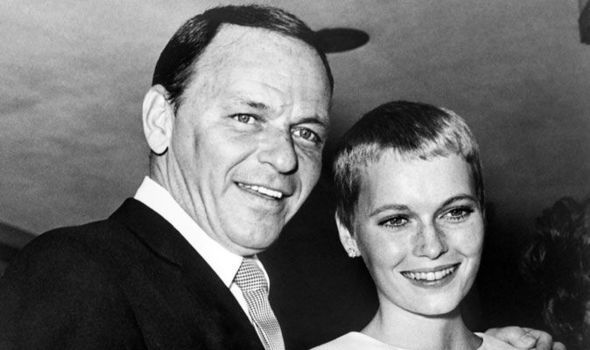 Mia Farrow and Frank Sinatra during their wedding in 1966 [GETTY]