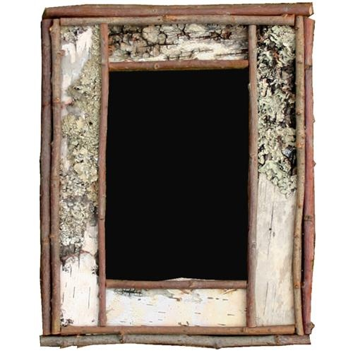 Birch bark picture frame at rocky mountain decor