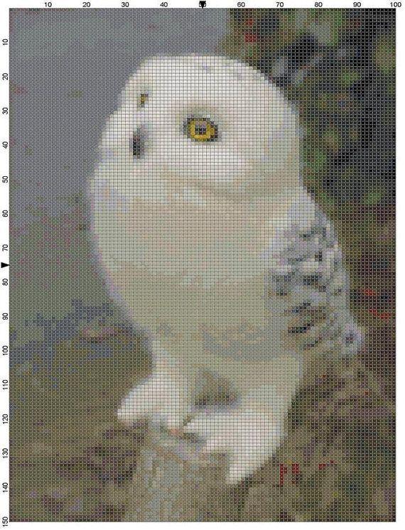 Cross Stitch Pattern Fantasy Harry Potter by theelegantstitchery