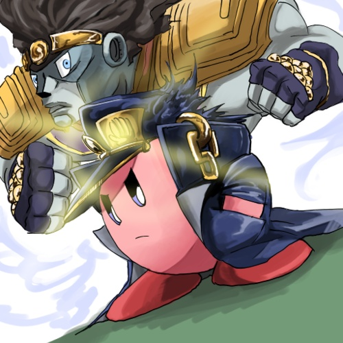 Kirby crossover with JoJo's Bizarre Adventure