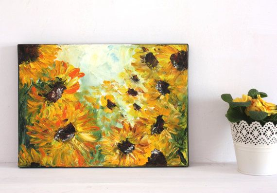 Sunflowers by BarbaraGallery on Etsy