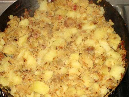 patate in tecia (Friuli Venezia Giulia)