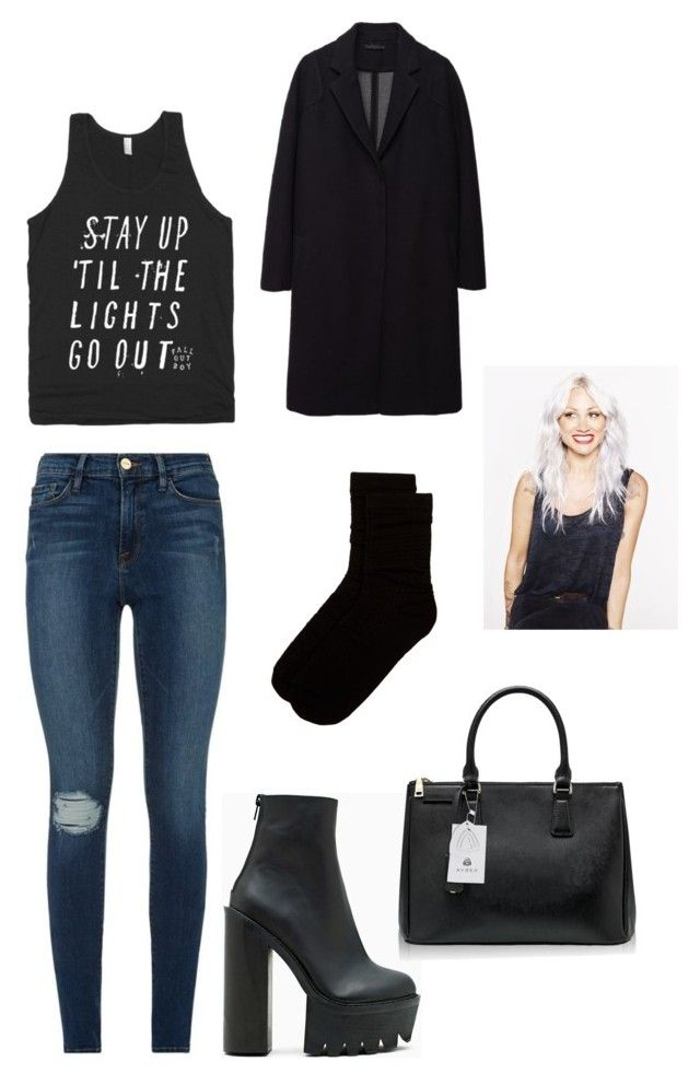 """""""lou teasdale outfit"""" by strotsenburg on Polyvore featuring mode, Frame, Free Press, The Row, Jeffrey Campbell en Handle"""