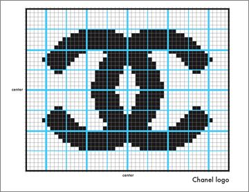 How to follow a hand knitting chart :: Knitting for