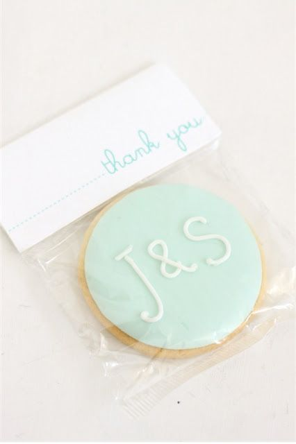 "Sweet favor idea for weddings, showers and more. I would have them as small ""thank you"" tokens at the shower. After all, people are bringing you nice things!!!"