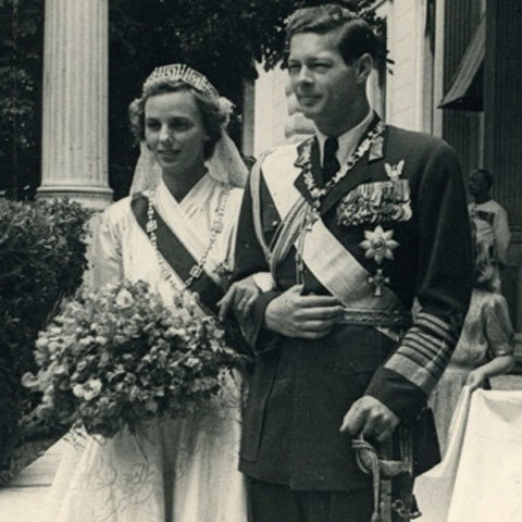 HM King Michael of Romania and Queen Ana