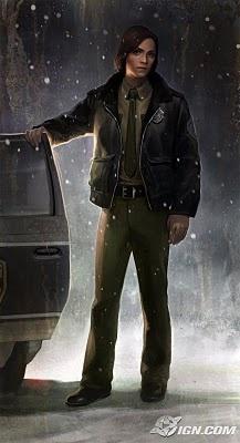 Wesley Burt : Concept Art: Silent Hill : Shattered Memories