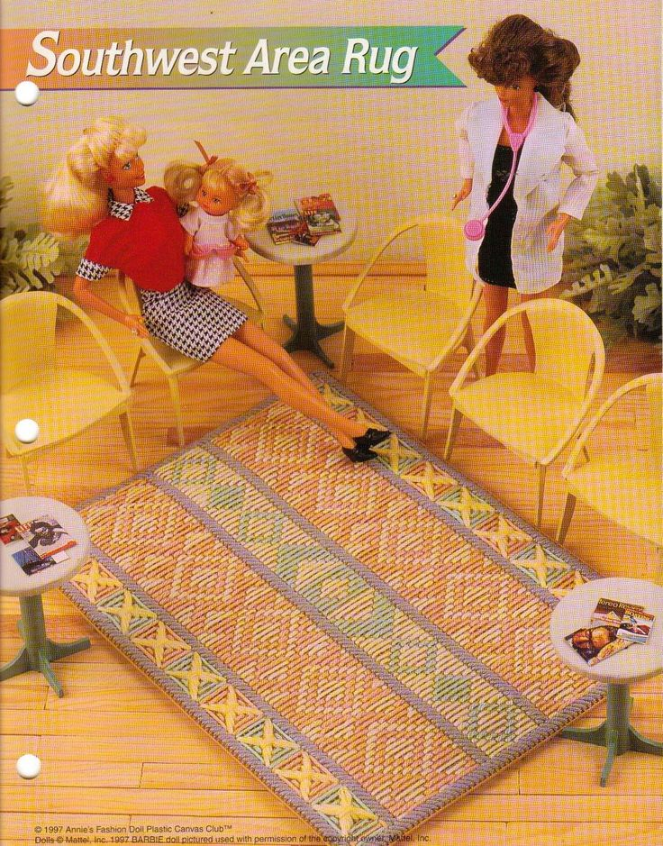 89 Best Barbie Plastic Canvas Images On Pinterest Doll Furniture Plastic Canvas Crafts And