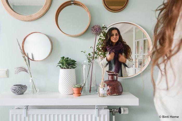 25 beste idee n over hal spiegel op pinterest ingangs plank entree en smalle gang decoratie - Idee gang ingang ...