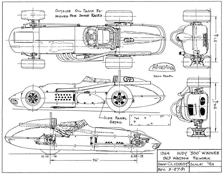 Old Wood Track Midget Race Car