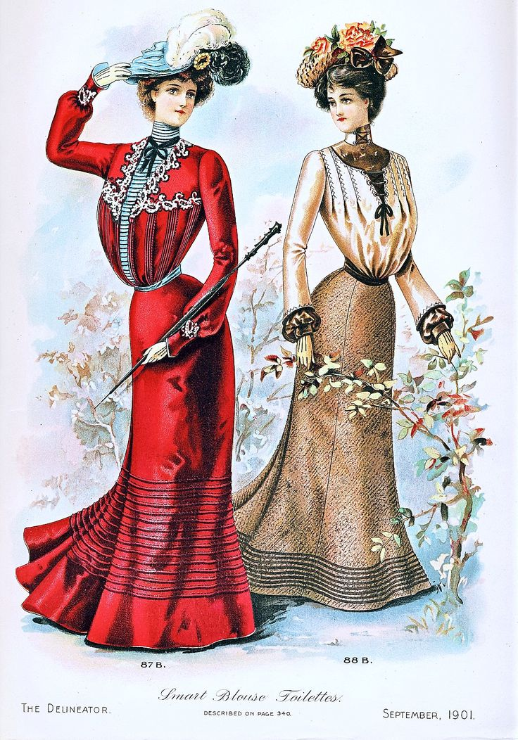 Fashion Plate - The Delineator, September 1901