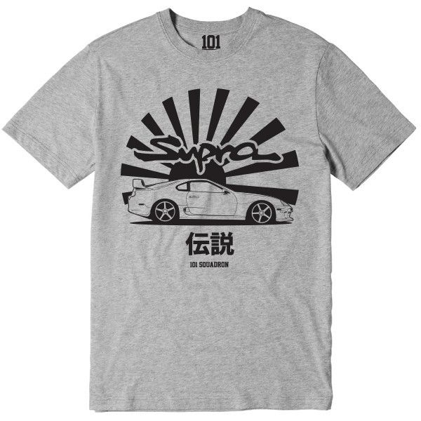 Supra Legend Shirt - Grey