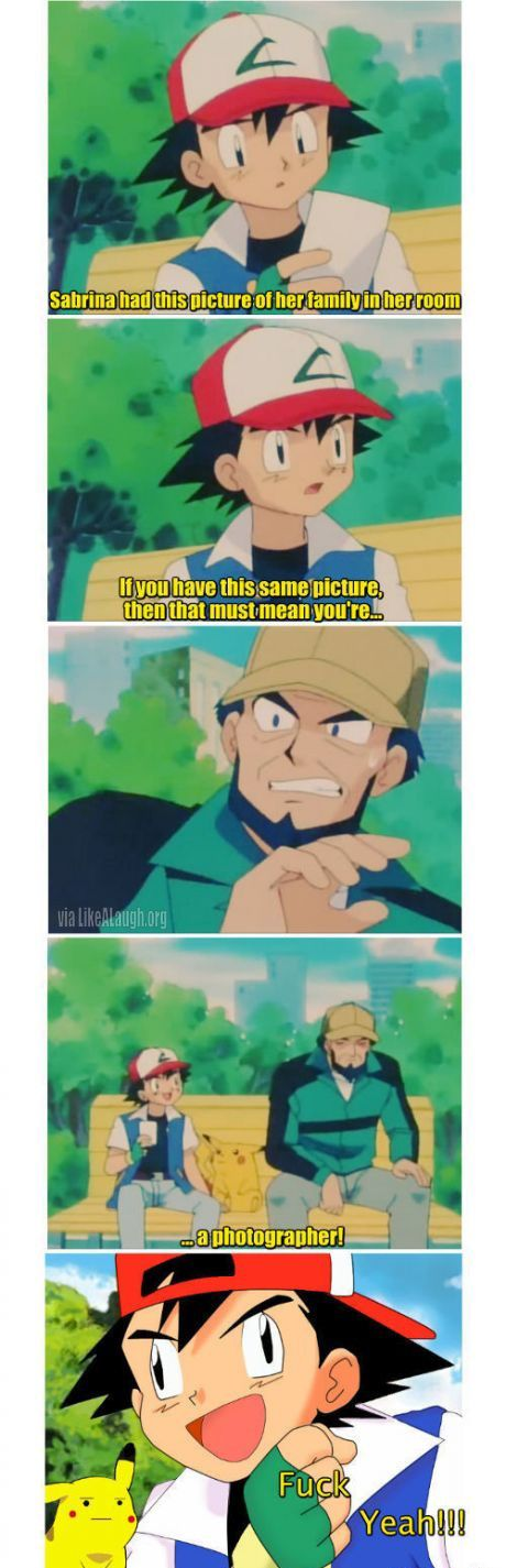 You have to be smart to be a Pokemon Trainer