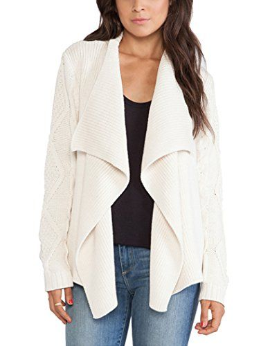 Oure Women Open Front Drape knitted Cardigan Fashin Casual Jacket Long Sleeve Sweater Cardigan white xxs Oure http://www.amazon.com/dp/B017QYEETU/ref=cm_sw_r_pi_dp_p3Wqwb1HYNFNP