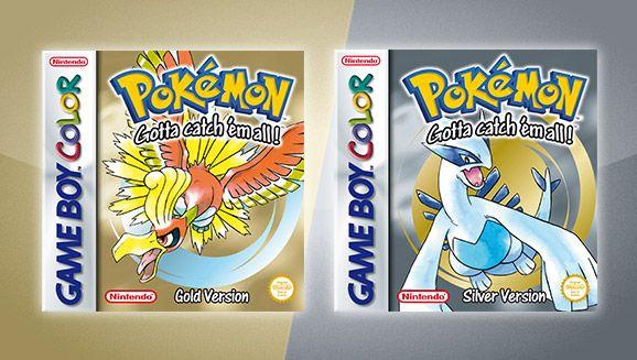Pokémon Gold Version and Pokémon Silver Version | Pokémon Video Games