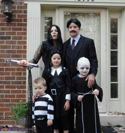 Adams family costume