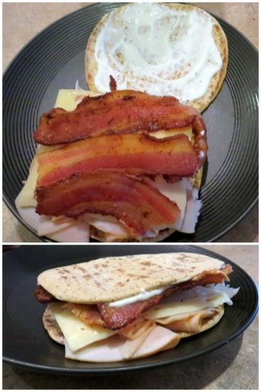 Turkey Bacon Ranch Sandwich -- perfect lunch!!
